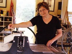 Judy Dorber at the Press